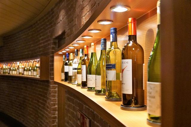 Wein Bar auf Kreuzfahrtschiff